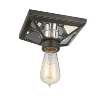 Hudson Valley Lighting Thurston 1 Light Semi Flush in Old Bronze 5080-OB