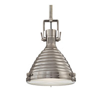 Hudson Valley Lighting Naugatuck 1 Light Pendant in Antique Nickel 5109-AN