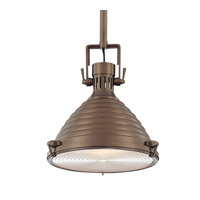 Hudson Valley Lighting Naugatuck 1 Light Pendant in Historic Bronze 5109-HB