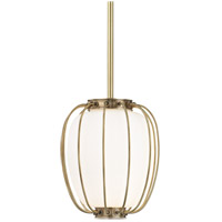 Hudson Valley 5110-AGB Ephron 1 Light 10 inch Aged Brass Pendant Ceiling Light