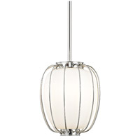 Hudson Valley 5110-PN Ephron 1 Light 10 inch Polished Nickel Pendant Ceiling Light