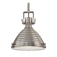 Hudson Valley Lighting Naugatuck 1 Light Pendant in Antique Nickel 5111-AN