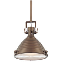 Hudson Valley Lighting Naugatuck 1 Light Pendant in Historic Bronze 5111-HB