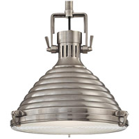 Naugatuck 1 Light 15 inch Antique Nickel Pendant Ceiling Light