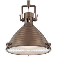 Naugatuck 1 Light 15 inch Historic Bronze Pendant Ceiling Light
