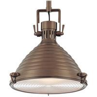 Hudson Valley 5115-HB Naugatuck 1 Light 15 inch Historic Bronze Pendant Ceiling Light