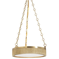Lynden 4 Light 16 inch Aged Brass Pendant Ceiling Light