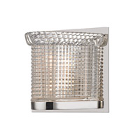 Hudson Valley Lighting Denning 1 Light Xenon Bath And Vanity in Polished Nickel 5191-PN