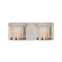 Hudson Valley Lighting Denning 2 Light Xenon Bath And Vanity in Satin Nickel 5192-SN
