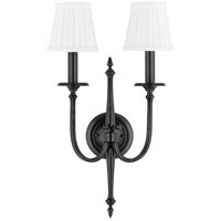 Jefferson 2 Light 12 inch Old Bronze Wall Sconce Wall Light