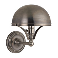 Covington 1 Light 8 inch Historic Nickel Wall Sconce Wall Light