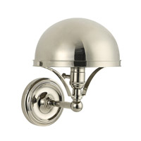 Hudson Valley Lighting Covington 1 Light Wall Sconce in Polished Nickel 521-PN