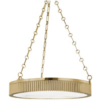 Hudson Valley Lighting Lynden 5 Light Pendant in Aged Brass 522-AGB