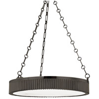 Lynden 5 Light 22 inch Distressed Bronze Pendant Ceiling Light