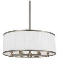 Hastings 6 Light 24 inch Historic Nickel Chandelier Ceiling Light