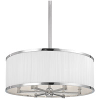 Hastings 6 Light 24 inch Polished Nickel Chandelier Ceiling Light