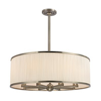 Hudson Valley Lighting Hastings 8 Light Chandelier in Aged Silver 5230-AS photo thumbnail