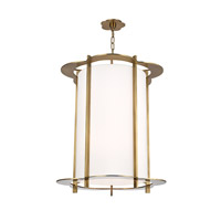 Hudson Valley Lighting Warwick 8 Light Pendant in Aged Brass 524-AGB