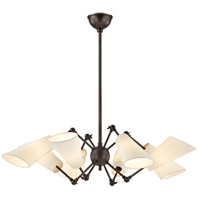 Buckingham 8 Light 35 inch Old Bronze Chandelier Ceiling Light