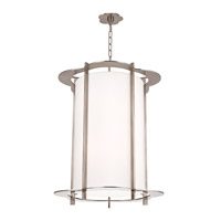 Hudson Valley Lighting Warwick 10 Light Pendant in Polished Nickel 531-PN