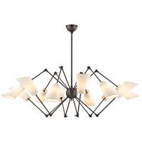 Hudson Valley 5312-OB Buckingham 12 Light 54 inch Old Bronze Chandelier Ceiling Light