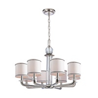 Hudson Valley Lighting Rock Hill 8 Light Chandelier in Polished Nickel 5328-PN