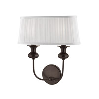 Hudson Valley 5402-OB Pembroke 2 Light 14 inch Old Bronze Wall Sconce Wall Light