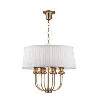 Pembroke 8 Light 22 inch Aged Brass Pendant Ceiling Light