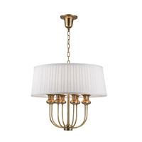 Hudson Valley 5408-AGB Pembroke 8 Light 22 inch Aged Brass Pendant Ceiling Light