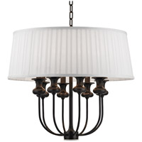 Pembroke 8 Light 22 inch Old Bronze Pendant Ceiling Light
