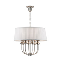 Pembroke 8 Light 22 inch Polished Nickel Pendant Ceiling Light
