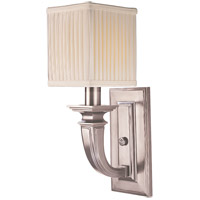 Phoenicia 1 Light 5 inch Historic Nickel Wall Sconce Wall Light