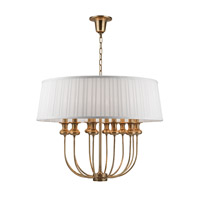 Pembroke 12 Light 28 inch Aged Brass Pendant Ceiling Light