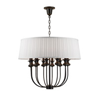 Pembroke 12 Light 28 inch Old Bronze Chandelier Ceiling Light