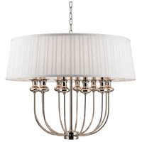 Hudson Valley 5412-PN Pembroke 12 Light 28 inch Polished Nickel Pendant Ceiling Light