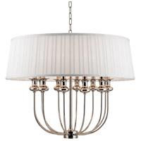 Hudson Valley 5412-PN Pembroke 12 Light 28 inch Polished Nickel Pendant Ceiling Light