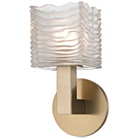 Hudson Valley 5441-AGB Sagamore LED 5 inch Aged Brass Bath Vanity Wall Light
