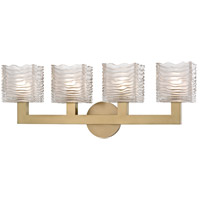 Sagamore LED 24 inch Aged Brass Bath Vanity Wall Light