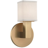 Clarke LED 5 inch Aged Brass ADA Wall Sconce Wall Light