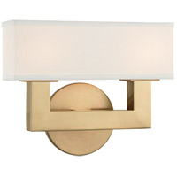 Clarke LED 10 inch Aged Brass ADA Wall Sconce Wall Light