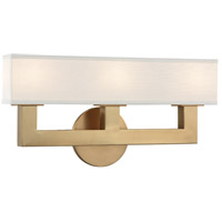 Clarke LED 17 inch Aged Brass ADA Wall Sconce Wall Light