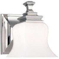 Hudson Valley 5501-PN Wilton 1 Light 5 inch Polished Nickel Bath And Vanity Wall Light