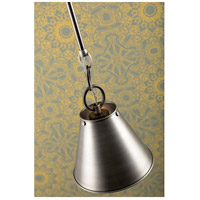 Hudson Valley 5511-HN Altamont 1 Light 11 inch Historic Nickel Pendant Ceiling Light alternative photo thumbnail