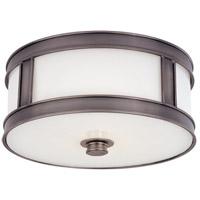 Hudson Valley 5513-HN Patterson 2 Light 13 inch Historic Nickel Flush Mount Ceiling Light