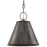 Altamont 1 Light 15 inch Historic Nickel Pendant Ceiling Light