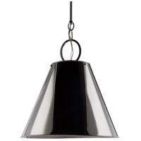 Hudson Valley 5515-PN Altamont 1 Light 15 inch Polished Nickel Pendant Ceiling Light
