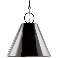 Hudson Valley Lighting Altamont 1 Light Pendant in Polished Nickel 5519-PN