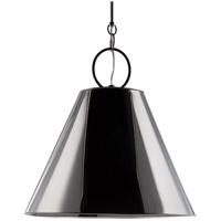 Hudson Valley 5519-PN Altamont 1 Light 19 inch Polished Nickel Pendant Ceiling Light