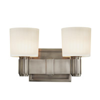 Hudson Valley Lighting Crowley 2 Light Bath And Vanity in Antique Nickel 5562-AN photo thumbnail