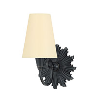 Bleecker 1 Light 7 inch Old Bronze Wall Sconce Wall Light in Eco Paper